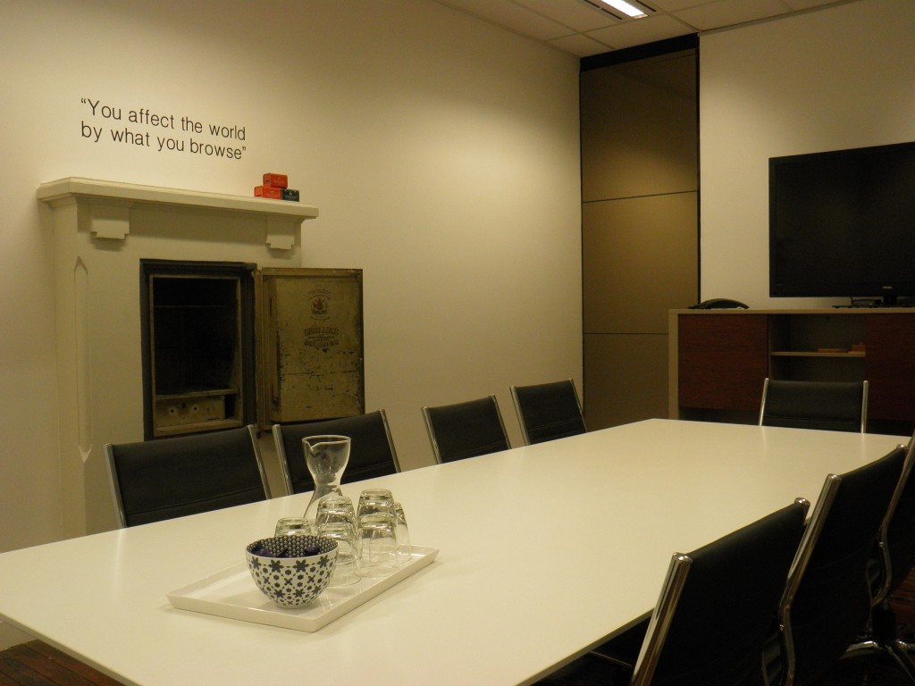 New Board Room, City Office Fitout.
