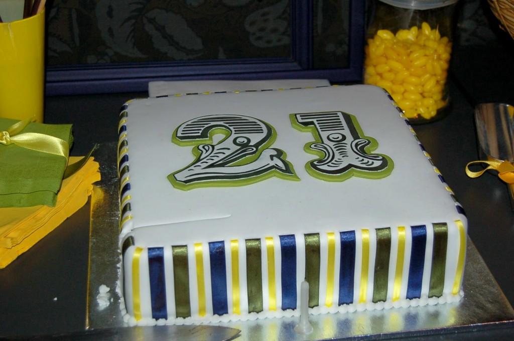 James' 21st